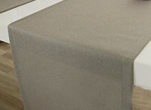 Outdoor table runner, monochrome, Premium Collection Summertime (ODSTTL1525)