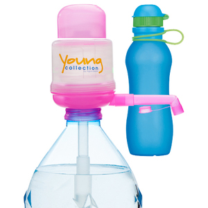 Paquet Special SP  1 pink  1000ml bleue |  1 Pump Young Collection pink plus Viv Bouteile 1000ml bleue | Artikel-Nummer: 1 YCP plus VIV SP  pink 1000 bleue
