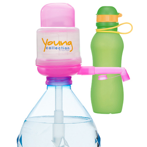Paquet Special SP  1 pink 500 vert |  1 Pump Young Collection pink plus Viv Bouteile 500ml vert | Artikel-Nummer: 1 YCP plus VIV SP  orange Kopie