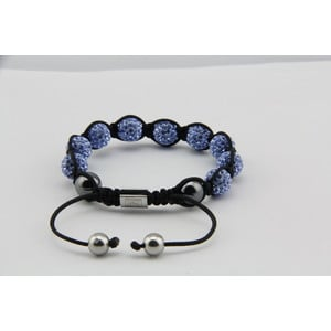 LIGHT BLUE DIAMOND | Original Hussaya Armband in hellblau | Artikelnummer: HS-CS-LB