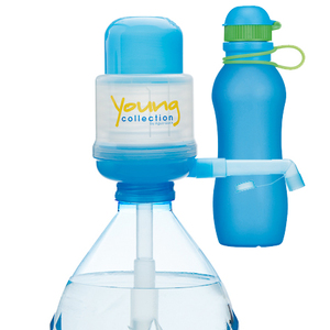 Paquet Special SP 1 bleue 500 bleue |  1 Pump Young Collection bleue plus Viv Bouteile 500ml bleue | Artikel-Nummer: 1 YCB plus VIV SP bleue