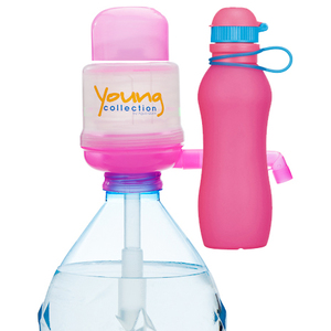 Paquet Special SP  1 pink 500 pink |  1 Pump Young Collection pink plus Viv Bouteile 500ml pink | Artikel-Nummer: 1 YCP plus VIV SP  pink