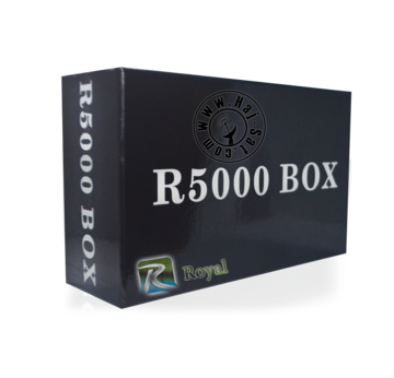 Royal Receiver R5000-HD IPTV&Sat Box +12 Months Abonnement | New 2017 | Artikelnummer: RRB5000