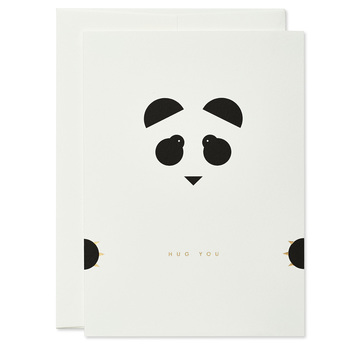 Hug you Panda – Grußkarte | Hug you Panda Greeting Card | Artikelnummer: thie-panda
