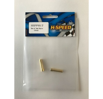 H Speed 5mm auf 4mm Goldkontakt-Adapter (2Stk) HSPP017 | HSPP01754 | Artikelnummer: HSPP017