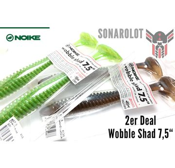 2er Deal - Wobble Shad 7,5