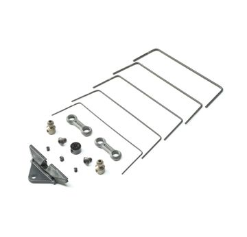 Team Losi Racing TLR 334055 Front Sway Bar Set: 22 5.0  |  | Artikelnummer: TLR334055