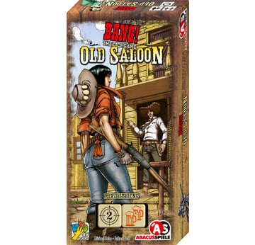 Bang! The Dice Game: Old Saloon | Erweiterung - Abacusspiele | Artikelnummer: 4011898361711