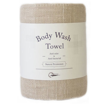 Body Wash Towel Natural Persimmon |  | Artikelnummer: E3000