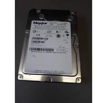 HDD Maxtor ATLAS 10KII 147GB Refurbished 3,5