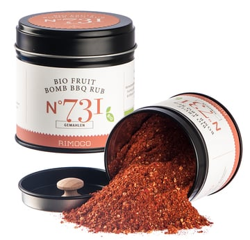 Fruit Bomb BBQ Rub BIO | Fruchtig & Pikanter Barbecue Rub | Artikelnummer: 0270