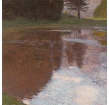 GUSTAV KLIMT: A Morning by the Pond |  | Artikelnummer: POD-LM-02007-A4E