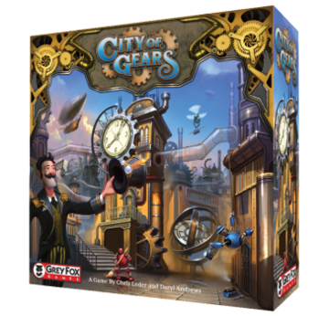 City of Gears | Grey Fox Games | Artikelnummer: 616909967179