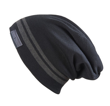 Black Falcon Beanie | Mit Web Label | Artikelnummer: BE-1002-18