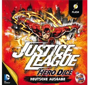 Justice League: Hero Dice • Flash-Set |  | Artikelnummer: 4015566100343