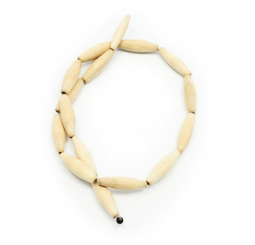 Kokos Perlen Rondellen braun 8mm Strang 38cm SERAJOSY Holzperlen