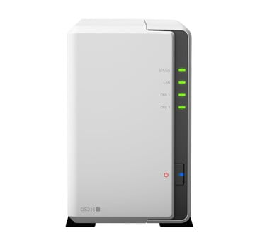 Synology DS216j incl. 16TB (2 x 8TB) HDD NAS RAID Server Bundle | ab Lager lieferbar! | Artikelnummer: DS216j 2-Bay 16TB