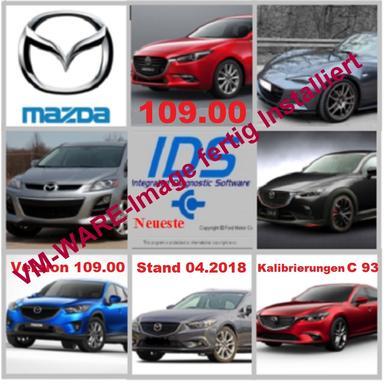 Mazda IDS 109.00 + Kalibrierungen c93 Diagnose Software von 04.2018 ...