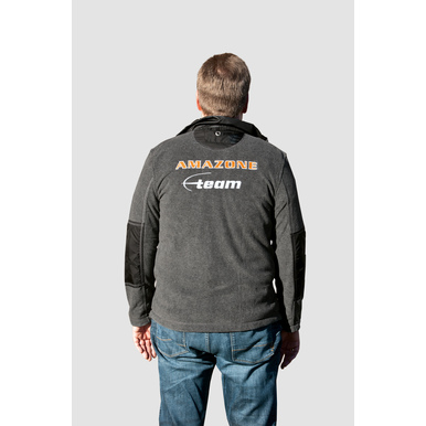 Team-Fleece-Jacke, anthrazit |  | Artikelnummer: ML509