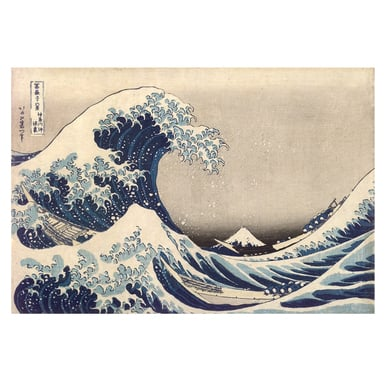 Thirty-six Views of Mount Fuji | Under the Wave at Kanagawa | Artikelnummer: PODE-KI-10988-A4S