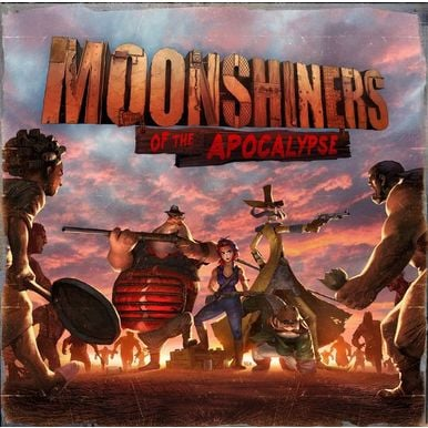 Moonshiners of the Apocalypse - Kickstarter Deluxe Edition |  | Artikelnummer: 0016027372716