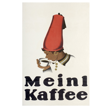 Advertising poster 1924 | Meinl Kaffee | Artikelnummer: PODE-PI-12-A3S