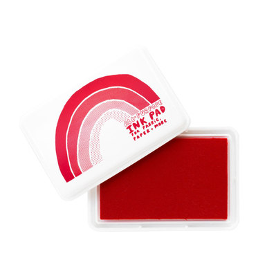 Großes Stempelkissen / All Purpose Ink Pad  | Rot / Red | Artikelnummer: yellowowl_rot