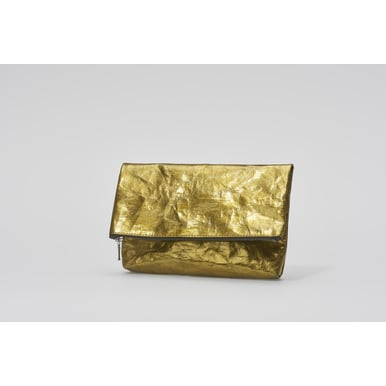 Folded Clutch | Designed by Papier Langackerhäusl | Artikelnummer: Design_020_metallic_gold
