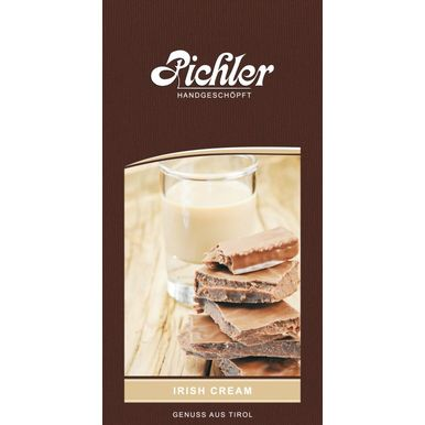 Irish Cream | 50 g-Tafel | Artikelnummer: irishcream50