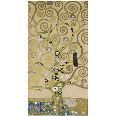 Gustav Klimt, TREE OF LIFE | Cartoon part 4 for the mosaic frieze on the wall of the dining hall of Stoclet House, Brussels | Artikelnummer: POD-MAL-226-4-A3