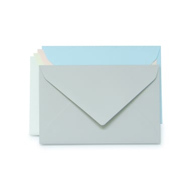 Rivoli Dame Kuverts / Lady Envelopes  | Hellblau / Light blue | Artikelnummer: 555.425_dame_blau