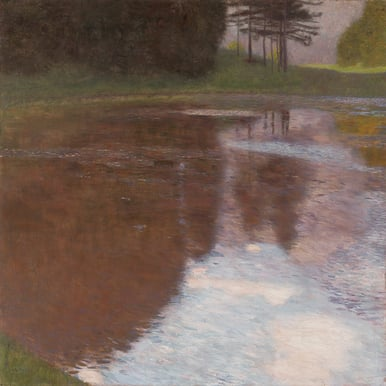 GUSTAV KLIMT: A Morning by the Pond |  | Artikelnummer: POD-LM-02007-A2SE