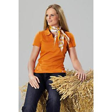 Damen-Team-Poloshirt, orange | Damen | Artikelnummer: ML018