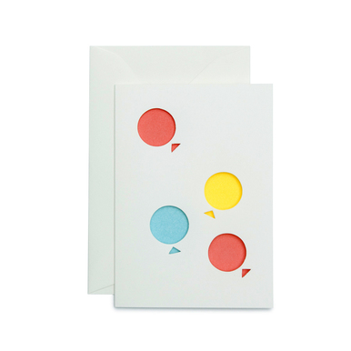 Ballons – Cut Out Card | Balloons Cut Out Card | Artikelnummer: cm2