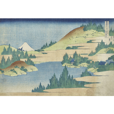 Thirty-six Views of Mount Fuji | Sea at Hakone in Sagamin province | Artikelnummer: PODE-KI-10992-A2