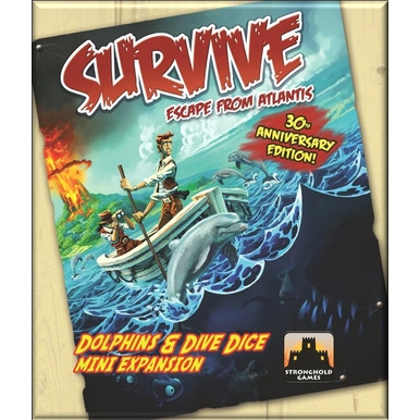 Dolphins & Dive Dice Mini-Expansion | Survive: Escape from Atlantis | Artikelnummer: 713757486606