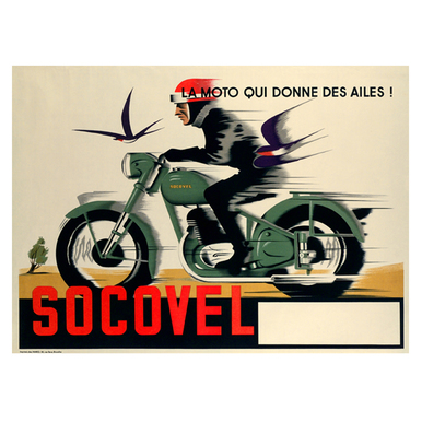 SOCOVEL | Advertising Poster 1930 | Artikelnummer: POD-PI-13368-A3S