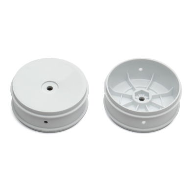 Team Associated 61mm Front 2WD Buggy Wheels, white 91572 | 784695915725 | Artikelnummer: 91572