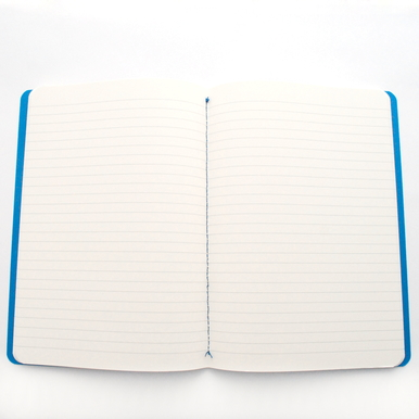 Papelote Professio Notizheft / Notebook | Liniert blau / Ruled blue | Artikelnummer: prof_blau