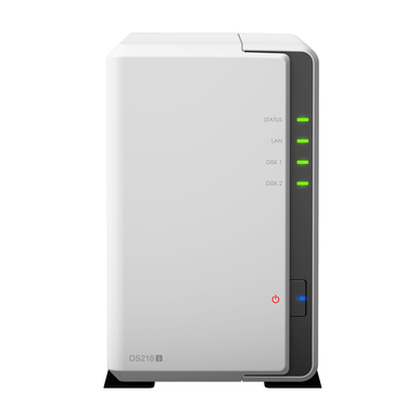 Synology DS218j incl. 6TB (2 x 3TB) WD RED NAS RAID Server Bundle | sofort ab Lager lieferbar! | Artikelnummer: 12548