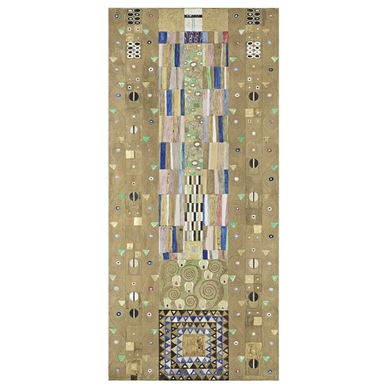 GUSTAV KLIMT The Knight | Stoclet Frieze | Artikelnummer: POD-MAL-227-A4SE
