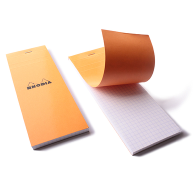 Rhodia Block / Rhodia pad | Orange | Artikelnummer: rhodia_orange