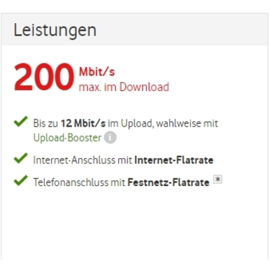 Red Internet & Phone 200 Cable |  | Artikelnummer: 6003