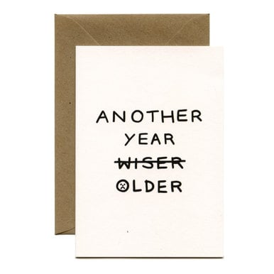 Another Year Older! Geburtskarte / Birthday Card |  | Artikelnummer: wrp_holly_older