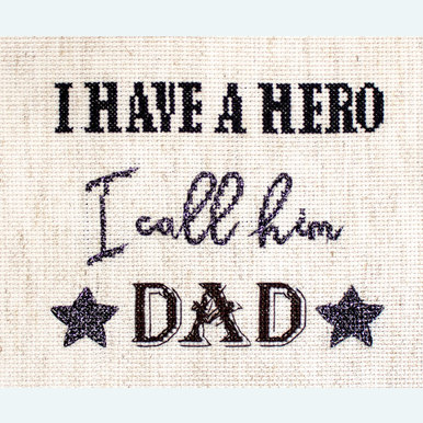 Father's Day Gift - borduurpakket met telpatroon Letistitch |  | Artikelnummer: leti-933