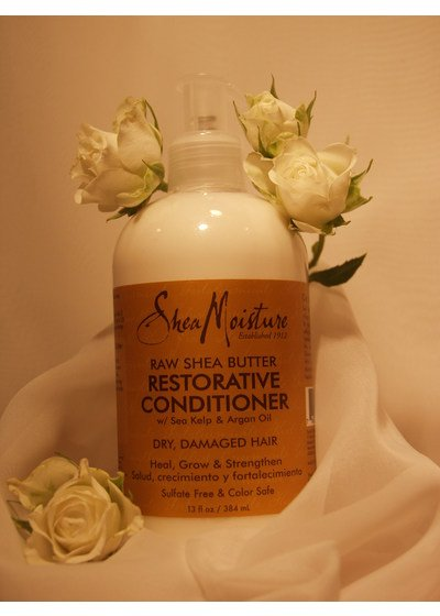 Rinse-out Conditioner SheaMoisture Raw Shea Butter reparierender Conditioner