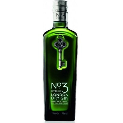 No. 3 London Dry mit Glas
