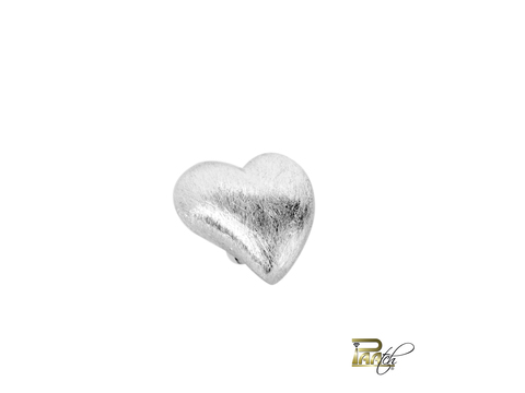 Moving Heart (Silber gebürstet) | Moving Heart in Silber eismatt | Artikelnummer: MOVEHEART_SILVERBRUSHED