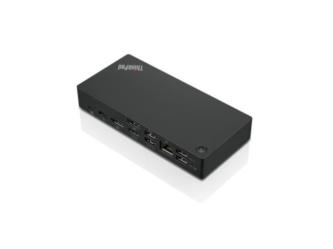 LENOVO ThinkPad USB-C Dock Gen2 (EU) inkl. Netzteil | Lenovo ThinkPad USB-C Dock Gen 2 - Dockingstation - USB-C - HDMI, 2 x DP - GigE - 90 Watt - Europa | Artikelnummer: 40AS0090EU