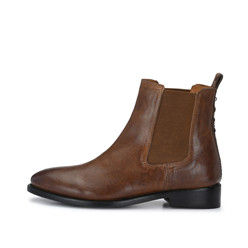 CRICKIT-Chelsea Boot Stiefelette-INES Braun